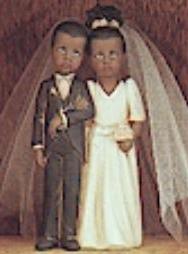 Clay Magic 1346 child bride & groom