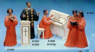 preacher & choir