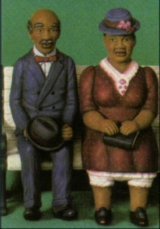 Scioto 2357 Old Black Man & Old Black Woman sitters