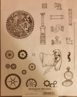 Steampunk Silkscreen