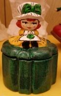 Shamrock girl box CC