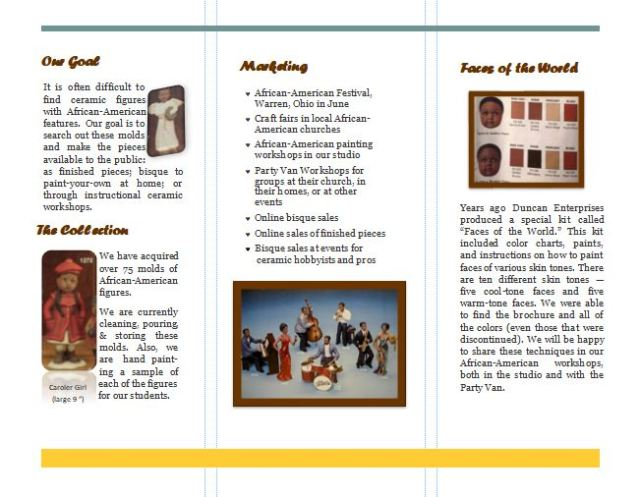 The African-American Collection brochure pg 2