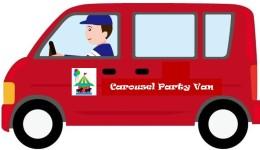 carousel party van logo