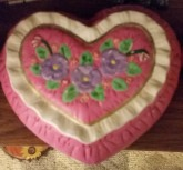 quilted heart box