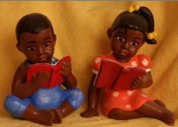 af-am kids reading books