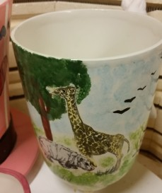 african animals planter 1