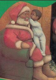 clay magic 1233 & 1235 afam santa with boy