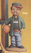 clay magic 1942 af-am basketball player