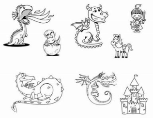 dss 154 cute dragons
