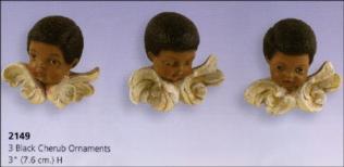 scioto 2149 black cherub ornaments (3)