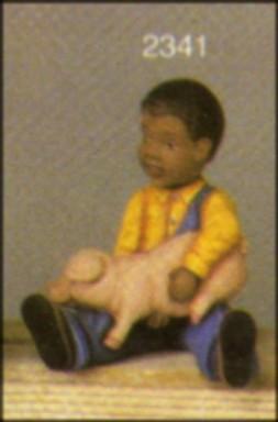 scioto 2341 black boy with piggy