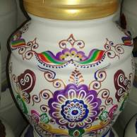 majolica ginger jar
