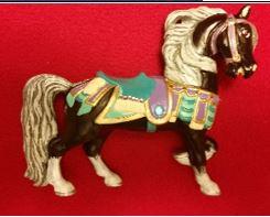 Alberta 1208 lead carousel horse