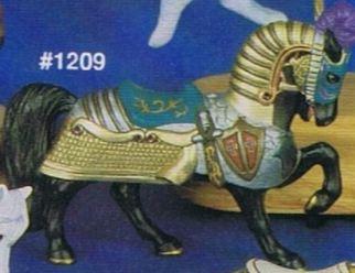 Alberta 1209 Armoured horse