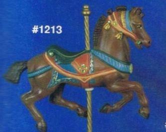 Alberta 1213 Roached Mane Horse