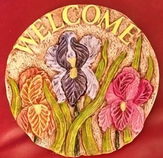 Catskill 0231 Welcome Iris Insert (Stepping Stone) (CC)