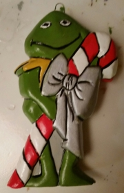 Sesame Street Ornaments Kermit the Frog CC