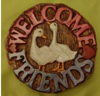 Welcome Friends Insert with geese CC