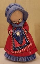 Byron 1912 Holly Hobby Doll with Quilt Americana