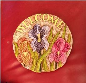 Catskill 0231 Welcome Iris Insert (Stepping Stone) (CC)