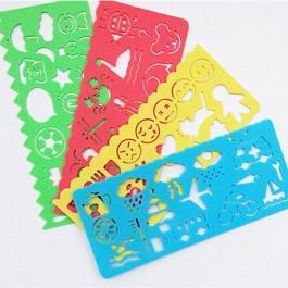 kids plastic stencils