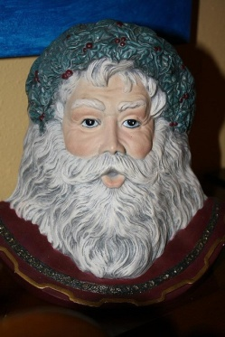 Santa with drybrushed beard
