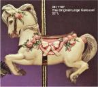 Doc Holliday 1197 The Original Large Carousel Horse