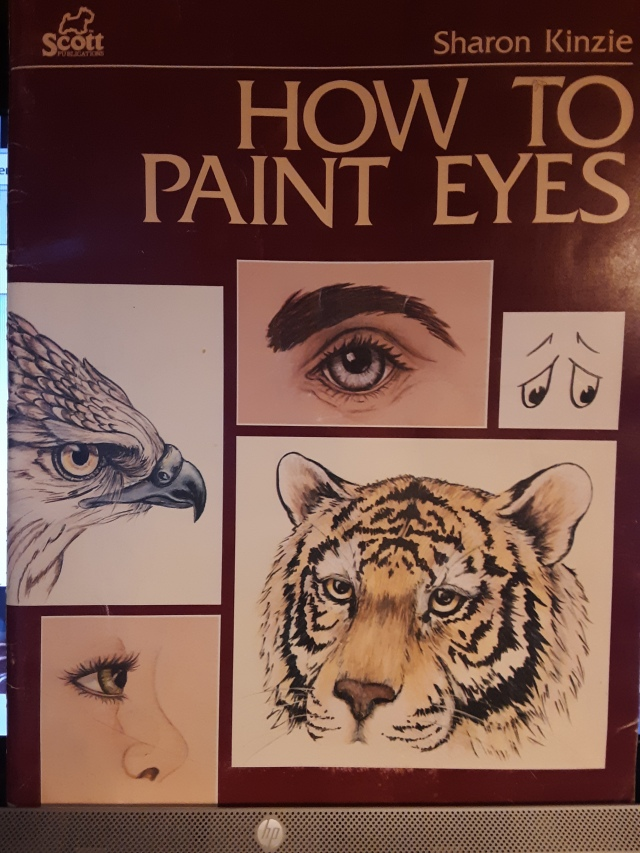 How to paint Eyes Kinzie