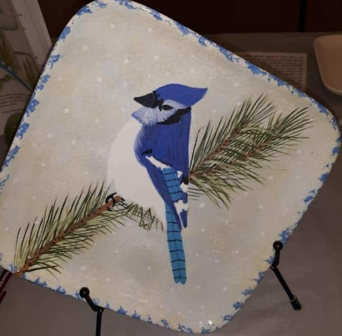 blue jay plate