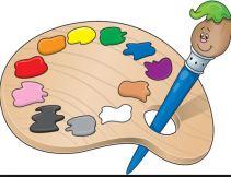clipart happy paint pallet