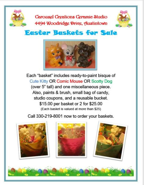 Easter Baskets for Sale