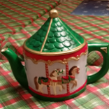 Alberta 1275 Carousel Teapot (stained)