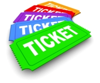 clipart ticket drawing