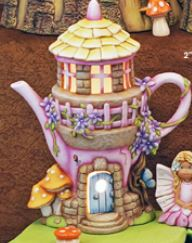 Enchanted Teapot Fairy House