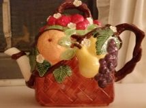 Fruit basket teapot (glaze & concepts)